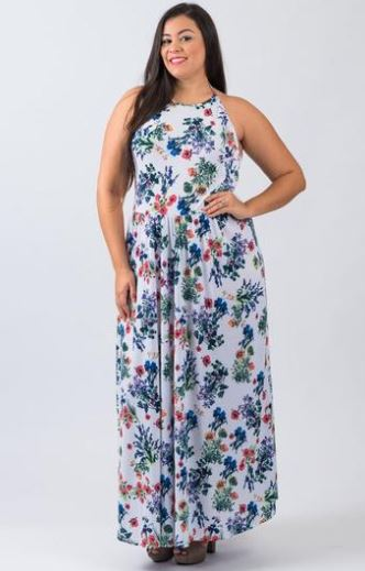 The One You Need Halter Maxi Dress