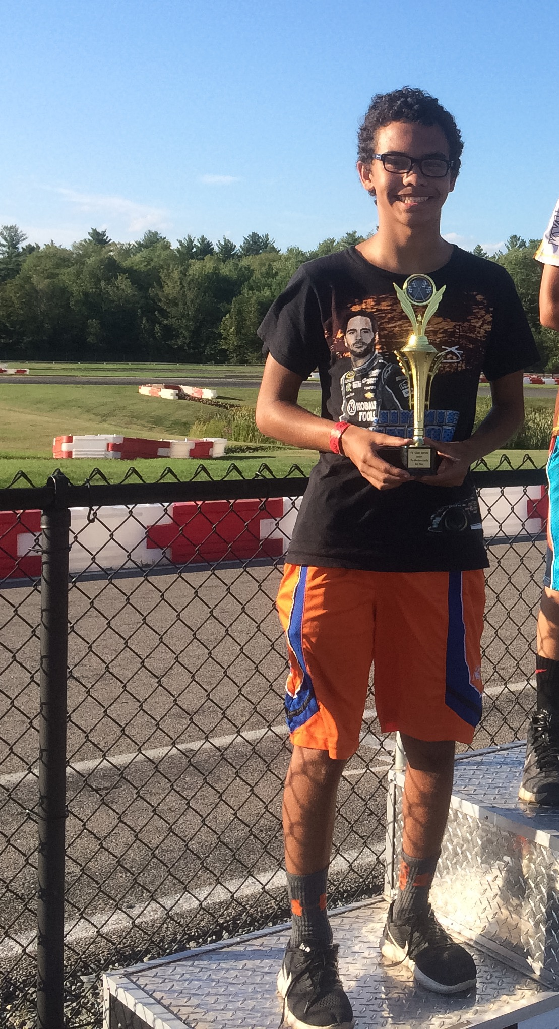 Blake finishes the Day in Second Place in Race #5 of F1Outdoors Club Racing Cadet League in East Bridgewater on Sunday August 14