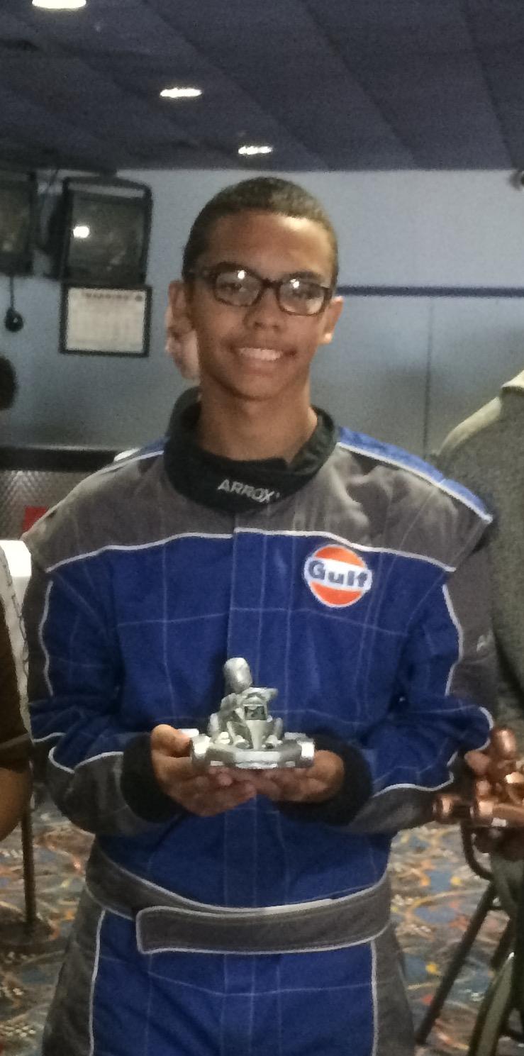Blake Receives Silver Trophy for 2016 F1 Boston Junior League Summer Season