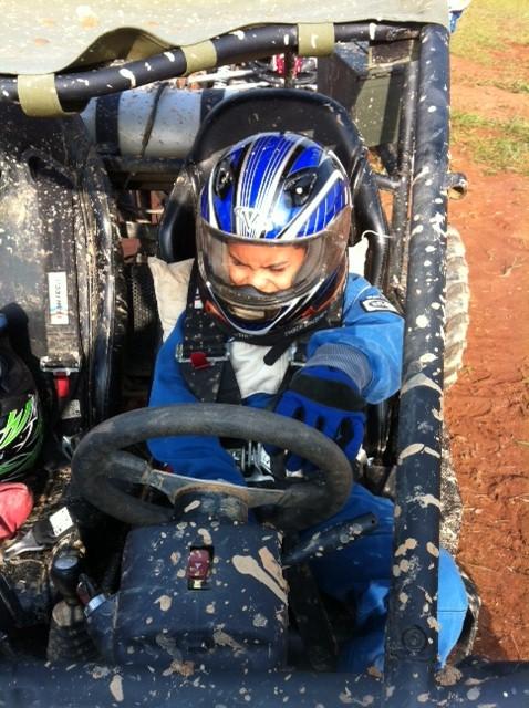 Blake at Camp Motorsports at age 11