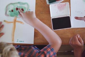 The Peaceful Preschool / FREE Letter A Unit