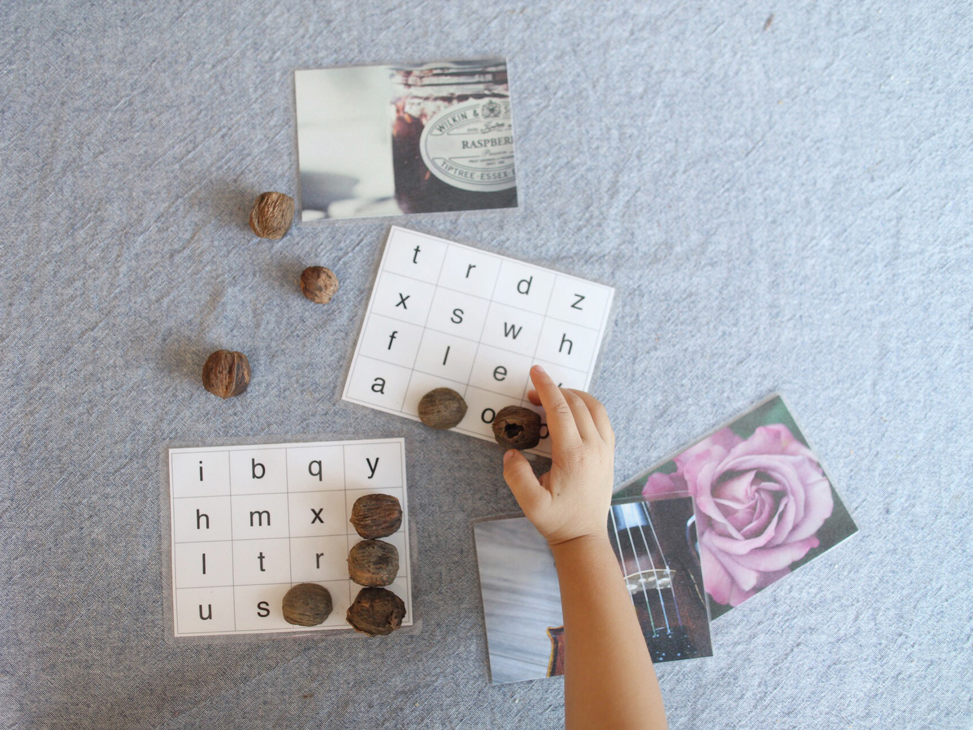 The Peaceful Preschool // FREE Phonogram Bingo