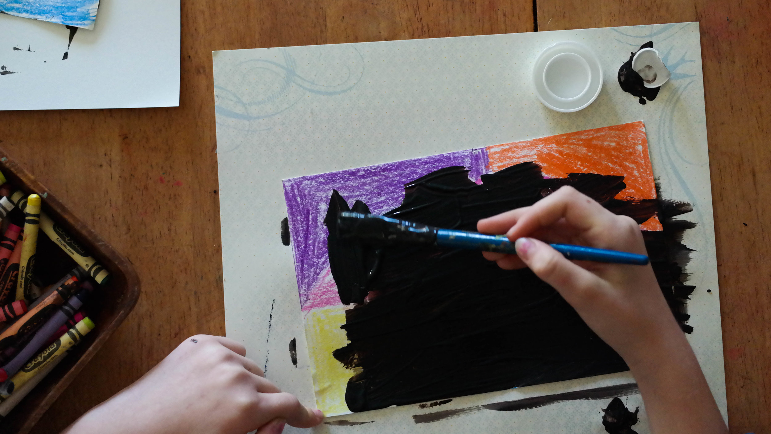 Scratch Art and the Importance of Memory // www.thepeacefulpress.com