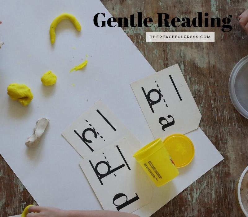 GENTLE READING / preschool homeschool / www.thepeacefulpress.com
