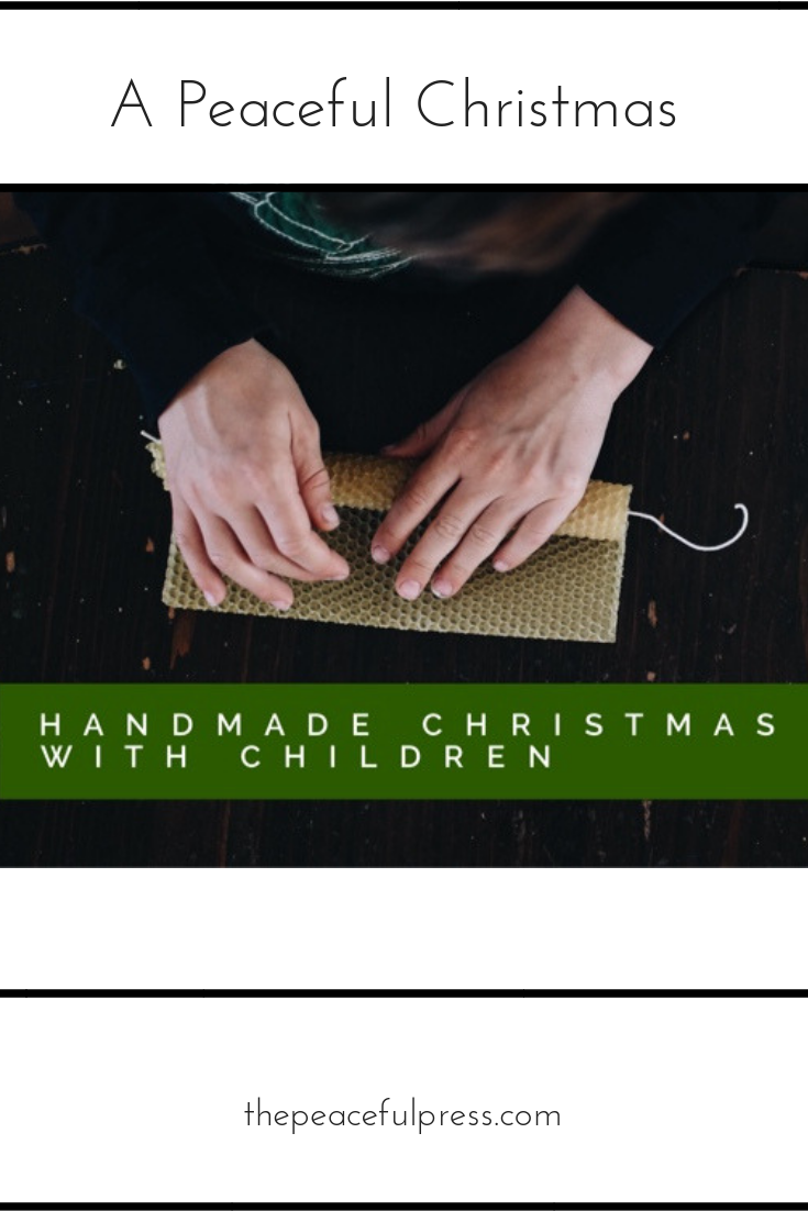 The best Christmas memories are made by hand…