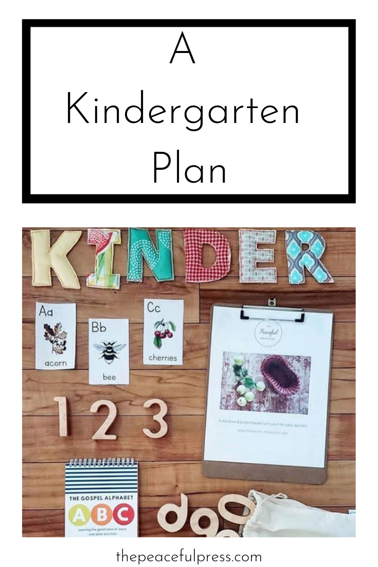 Many families are using our one month nature guides as a transition from   The Peaceful Preschool   to   The Playful Pioneers,     The KInd KIngdom  , or   The Precious People   for 4-6 year old children, and we wanted to give you a few tips for making a transitional kindergarten plan that is sustainable and developmentally appropriate.