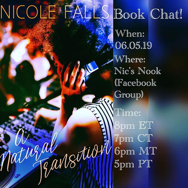Have you read my latest release? Wanna #tacoboutit? Well, friends...we'll be doing that on Wednesday, June 5th in Nic's Nook Facebook Group. If you're not a memeber yet, c'mon on down and join. It'll be a good time. 😁 #blackromance #goodreads