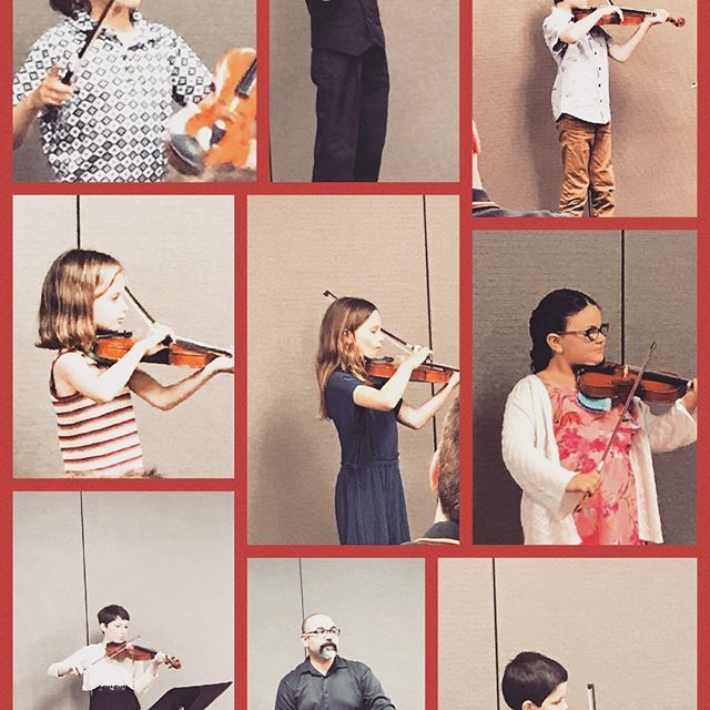 Strings Recital of Mr. Rafael's students. #castteachesstrings #futureorchestra #youngmusicians #proudofourstudentsandteacher