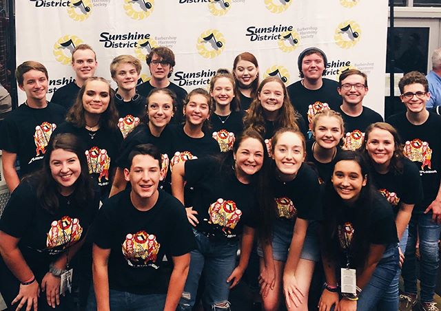 Congratulations to all of the C.A.S.T. students who participated in the @sunhxcamp in Melbourne this weekend! Awesome job 🎶🎤🎼