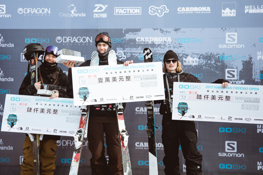 Podium from left to right Myself 3rd , Alex Hall 1st (American) Johan Berg 2nd(Norwegian)