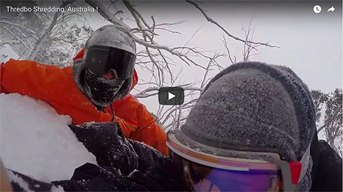 Snow, snow, and more snow… Thredbo, Australia