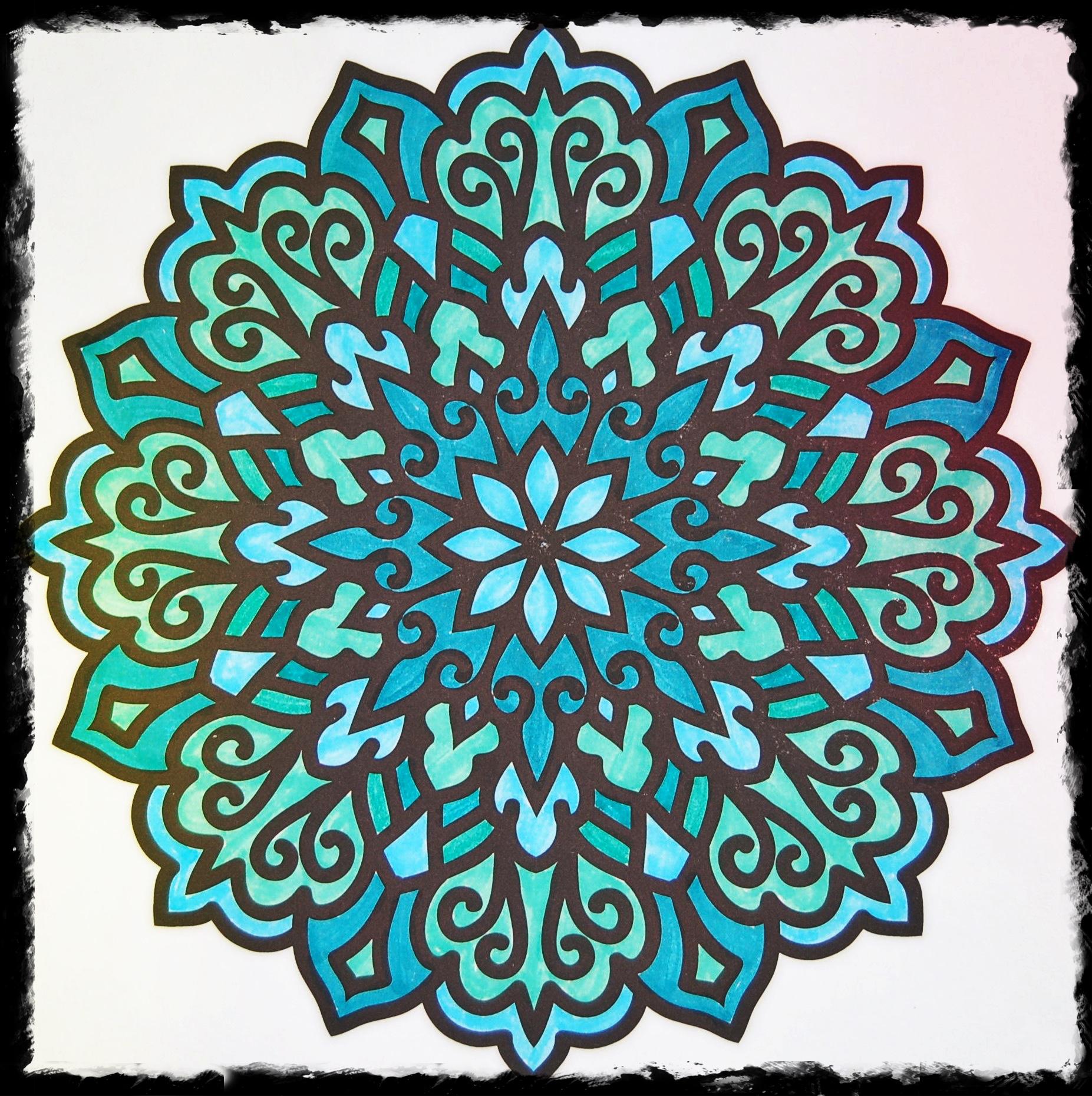 Flower Art on Paper