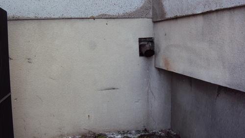 Fair-faced concrete - after