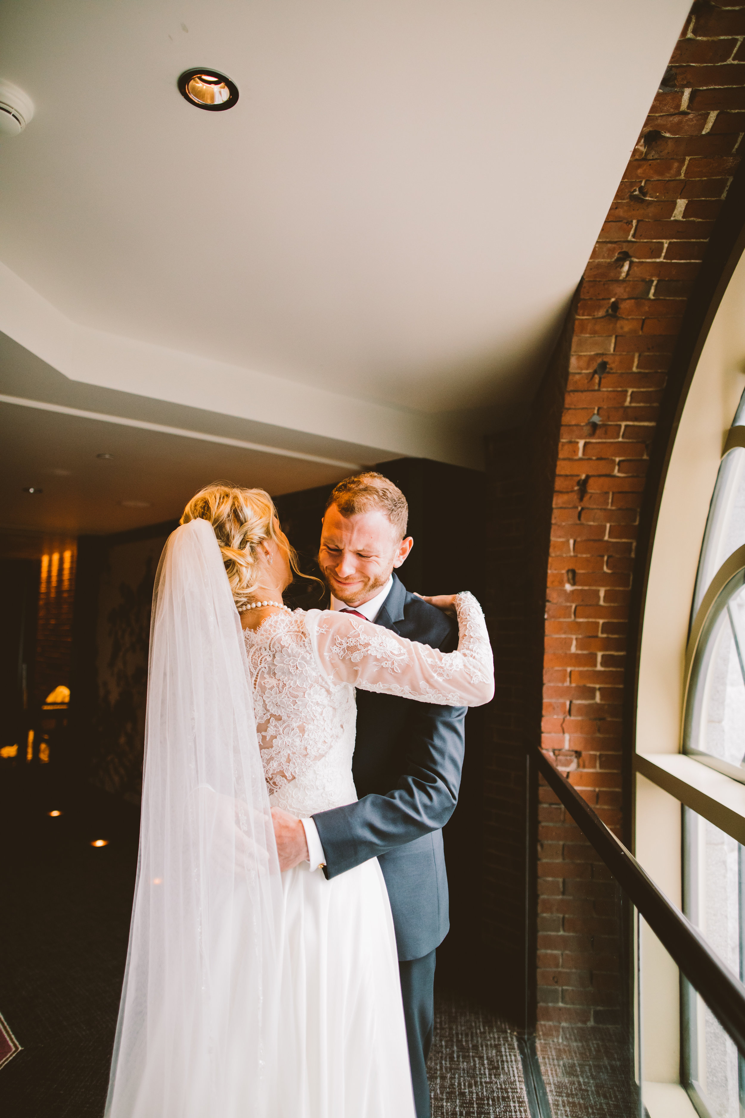 The Liberty Hotel Wedding in Boston | Boston Wedding Photographer | First Look | Tida Svy | www.tidasvy.com