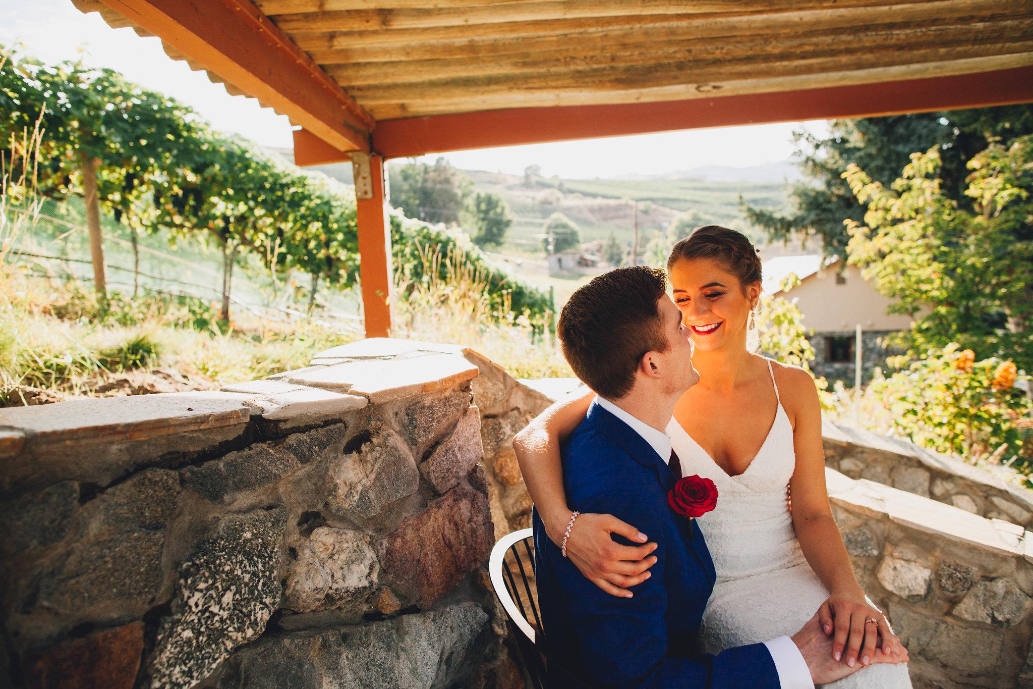 Tunnel Hill Winery Lake Chelan Washington Wedding | Lake Chelan Wedding Venues | Summer Vineyard Wedding Reception | Pacific Northwest Wineries | Tida Svy Photo | www.tidasvy.com