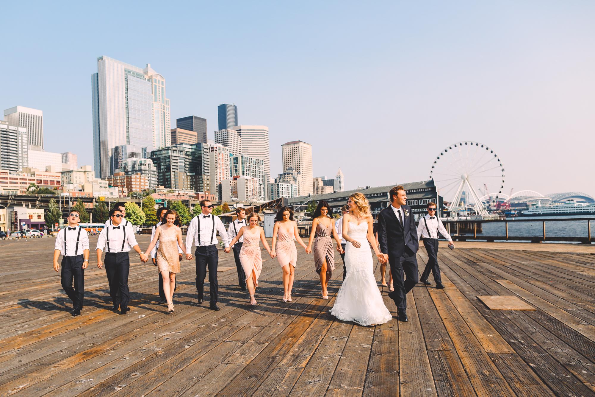 Pike Place Market Wedding Seattle Photography