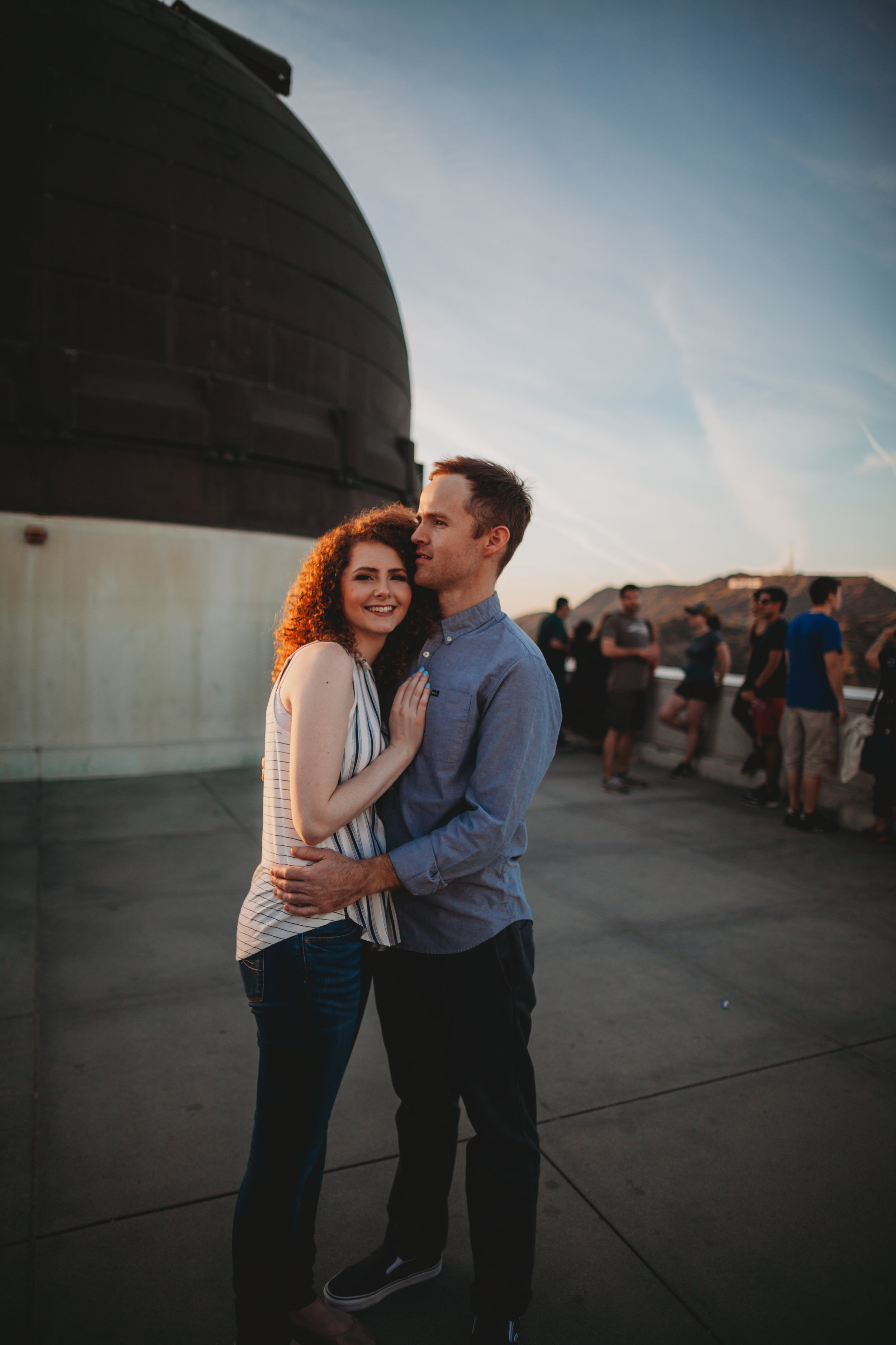 Griffith Park Observatory Engagement Photographer | Griffith Park Photographer | Los Angeles Wedding Photographer | Tida Svy | www.tidasvy.com