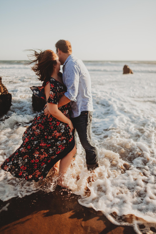 El Matador Beach Malibu Engagement Photographer | Malibu Wedding Photographer | Los Angeles Wedding Photographer | Tida Svy | www.tidasvy.com