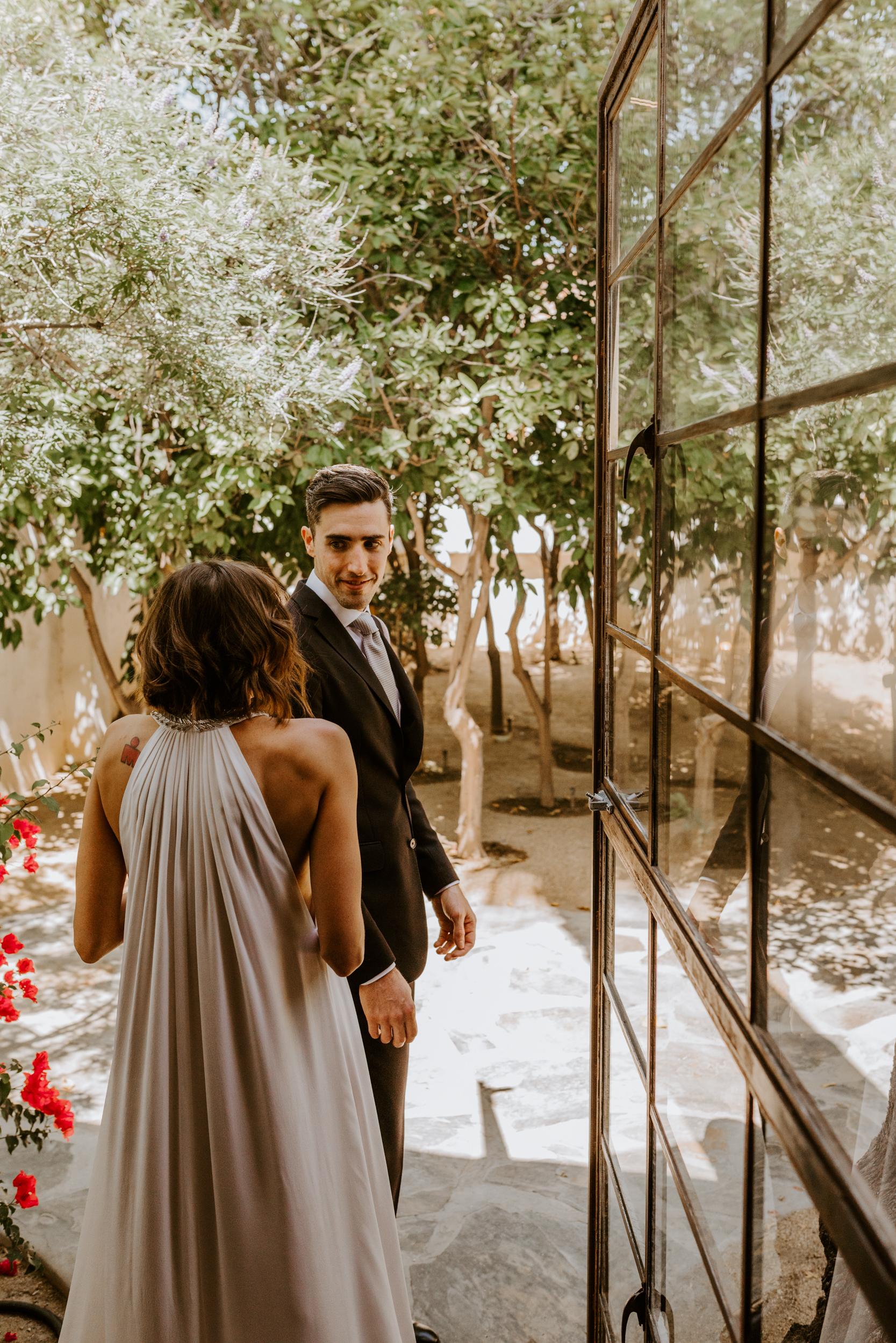 Korakia Pensione Palm Springs Wedding Photography by Tida Svy