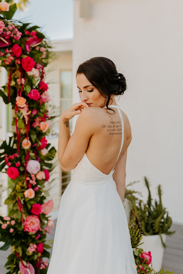 Palm Springs Wedding Photographer The Saguaro Hotel
