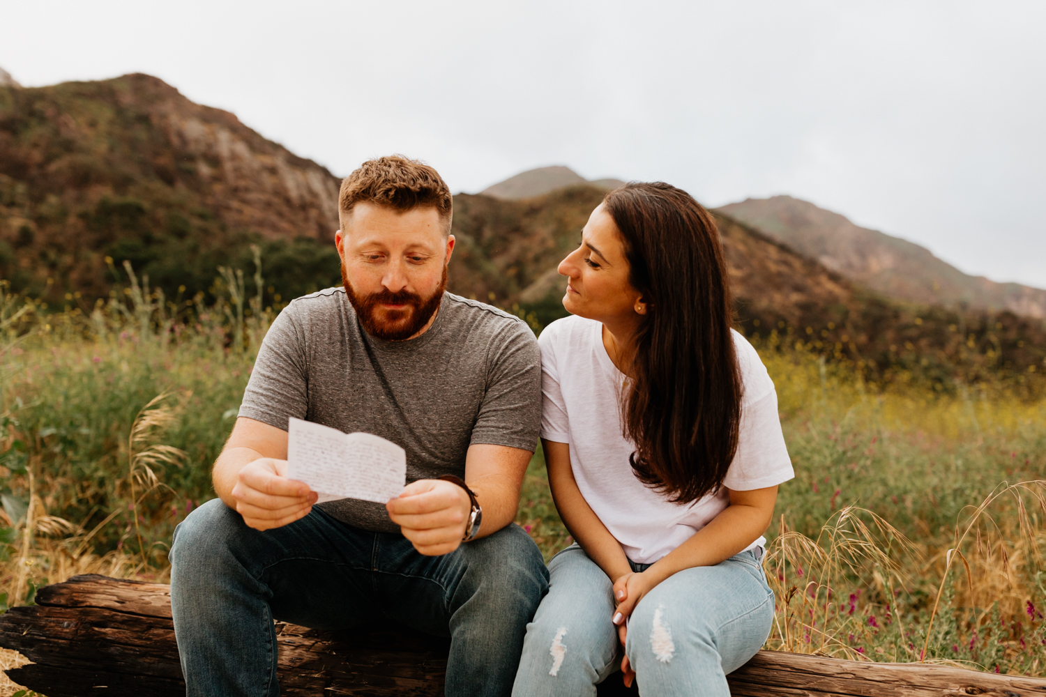 Malibu Creek State Park Engagement | Malibu Wedding Photographer | Los Angeles Wedding Photographer | Palm Springs Wedding Photographer | Tida Svy | www.tidasvy.com
