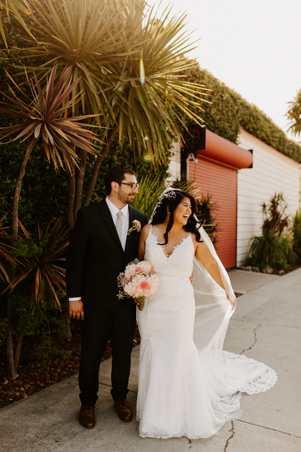 SmogShoppe Los Angeles Wedding Photographer Tida Svy | Indoor Outdoor Vintage Plant Wedding Decor | www.tidasvy.com