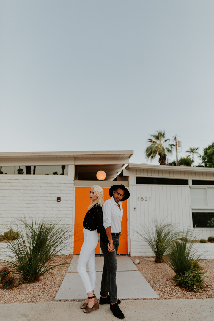 Palm Springs Engagement Session | The Amado Hotel | Los Angeles Wedding Photographer | Tida Svy | www.tidasvy.com