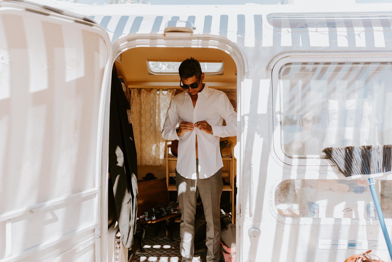 Joshua Tree Wedding Photographer   Le Haut Desert Aerie Wedding   Tida Svy   www.tidasvy.com
