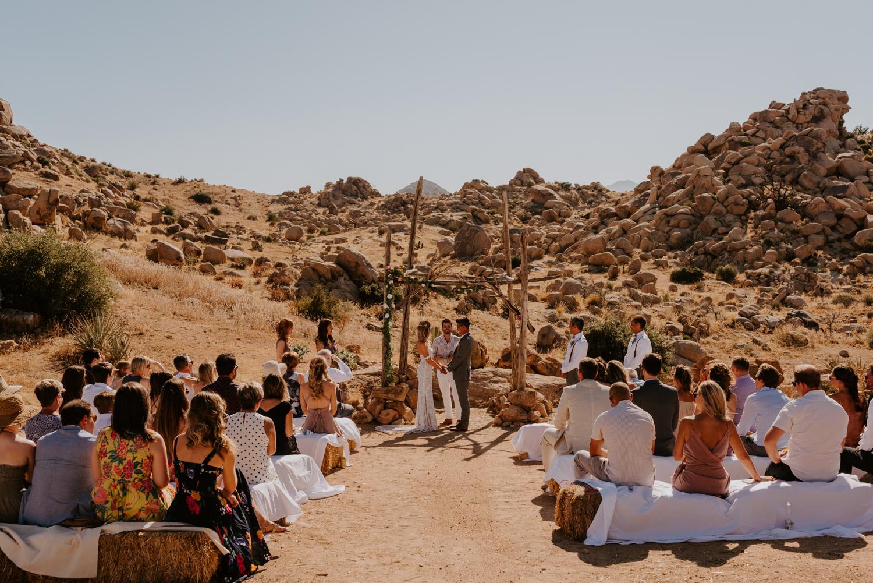 Le Haut Desert Aerie Wedding   Joshua Tree Wedding Photographer   Tida Svy   www.tidasvy.com