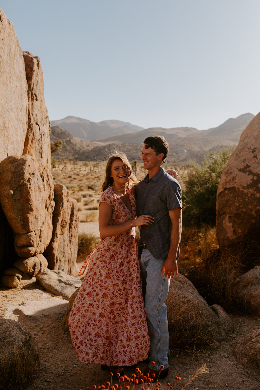 Joshua Tree Engagement Session | Palm Springs Wedding Photographer | Los Angeles Wedding Photographer | Tida Svy | www.tidasvy.com