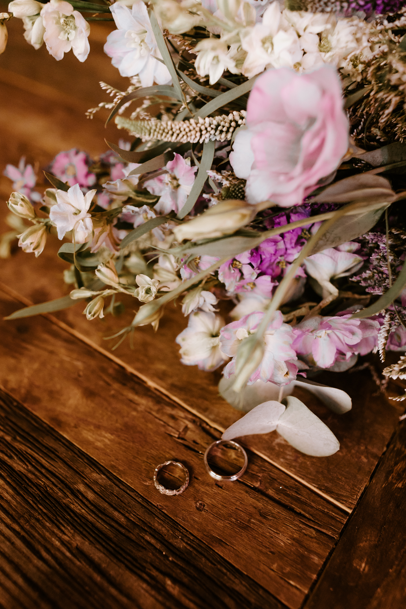 Rustic wildflower bouquet details | Carondelet House Wedding in Downtown Los Angeles | Los Angeles Wedding Photographer |Tida Svy Photography | www.tidasvy.com