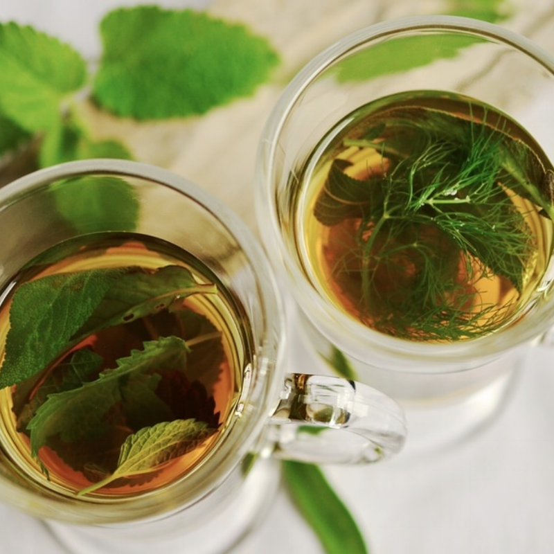 Often one or two cups of herb tea like dandelion, burdock, chicory tea can help improve liver function and reduce caffeine intake