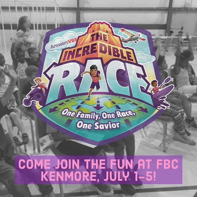 VBS starts this Monday, @fbckenmore! Register at fbcok.com ASAP!
