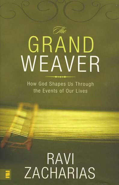 The Grand Weaver by Ravi Zacharias book giveaway.
