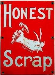 Honest Scrap award.
