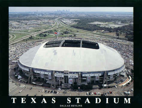 Original Texas Stadium. Dallas Cowboys.