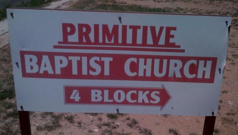 Primitive Baptist Church.