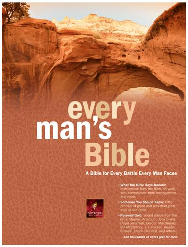 Every Mans Bible: A Bible for Every Battle Every Man Faces. A book review.
