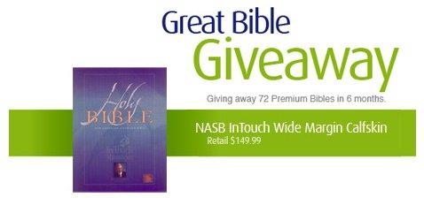 Logos Great Bible Giveaway