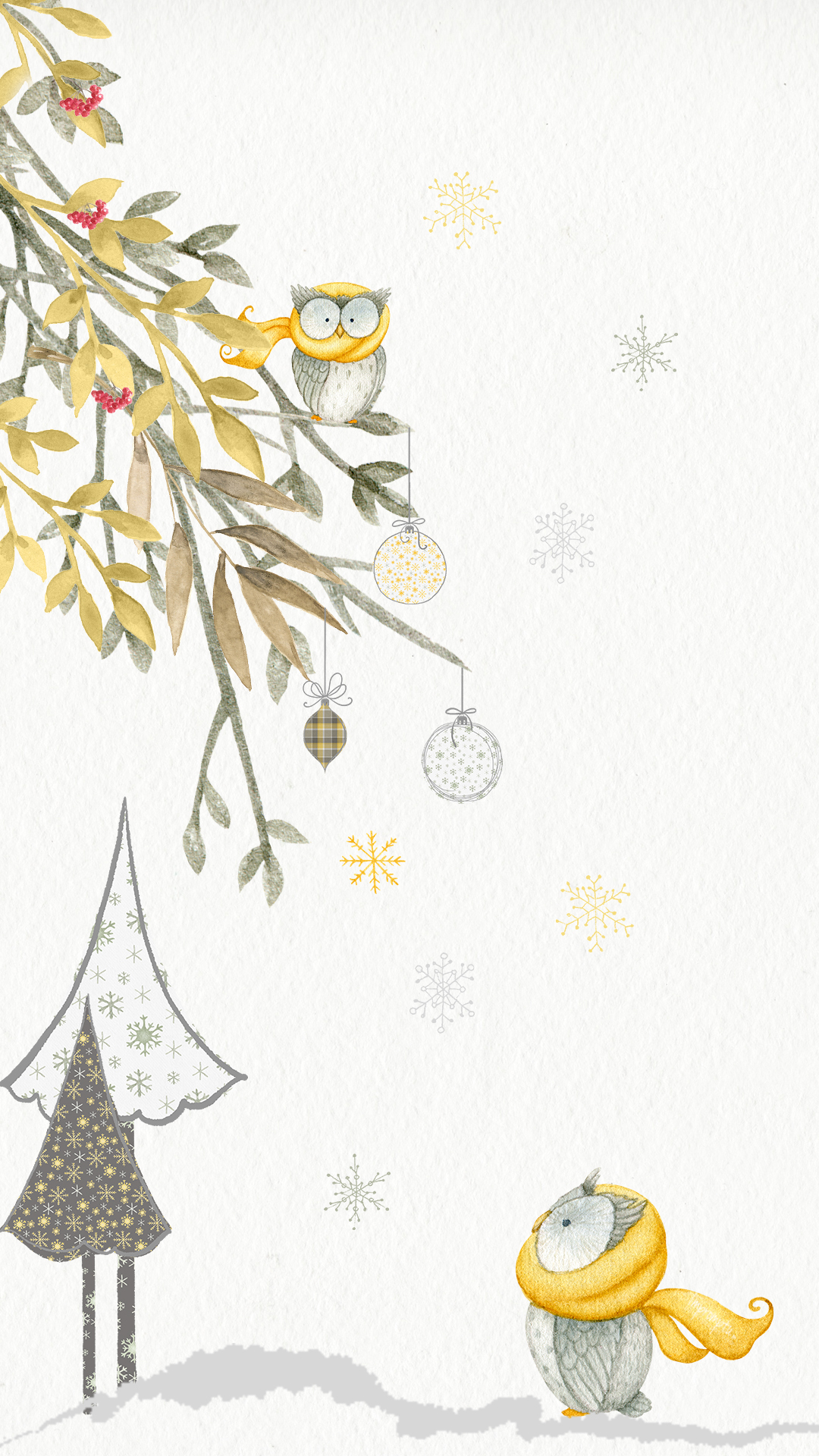 Iphone Christmas Owl Custom Design Download ©Impromptu Photogrpahy.jpg