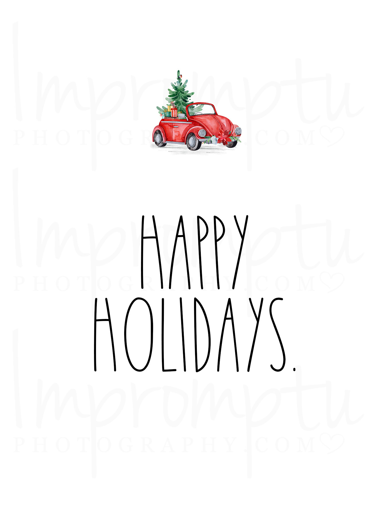 It is a photo of Happy Holidays Printable Card in modern happy holiday