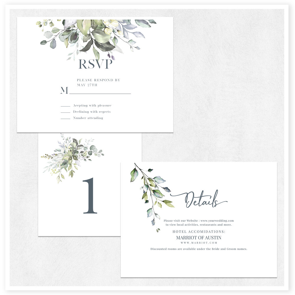 Wedding Invitation custom design Digital download 7x5
