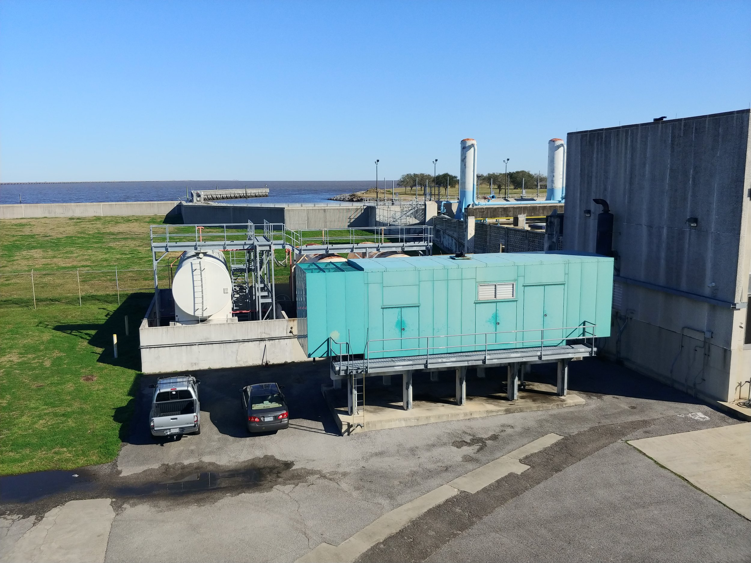 Bonnabel Drainage Pump Station