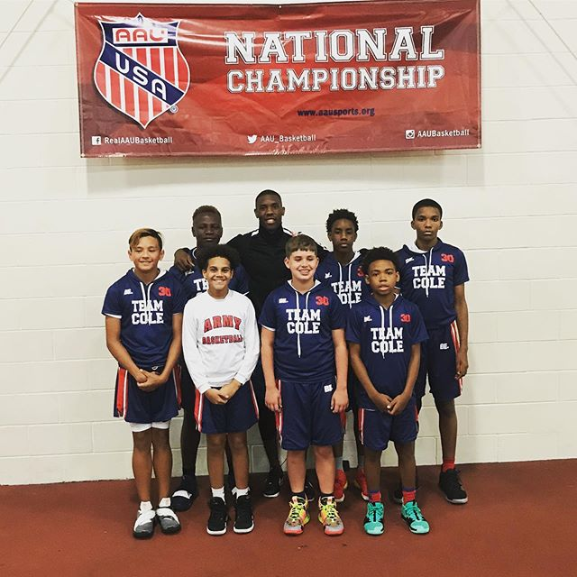 Im glad to able to experience being at 6th Grade AAU Nationals 🏀 with my squad #TeamCole! They've worked hard all season long in the classroom and on the court. Our team parents and coaches have done an excellent job supporting our young men and keeping them focused. This is our first season together and to make it to Nationals is a true accomplishment. Thank you @krocdayton for your unlimited support and resources to make our season special. Thanks @be.the.brand for your creativity and 🔥 uniforms!  @holddem34 thanks for leading the way as head coach and director of our program! @jamalmalik937 The future is very bright!  #AAUBBallNatls #937 #StudentAthletes #Sacrifice #GiveBack #Inspire #TeamCole