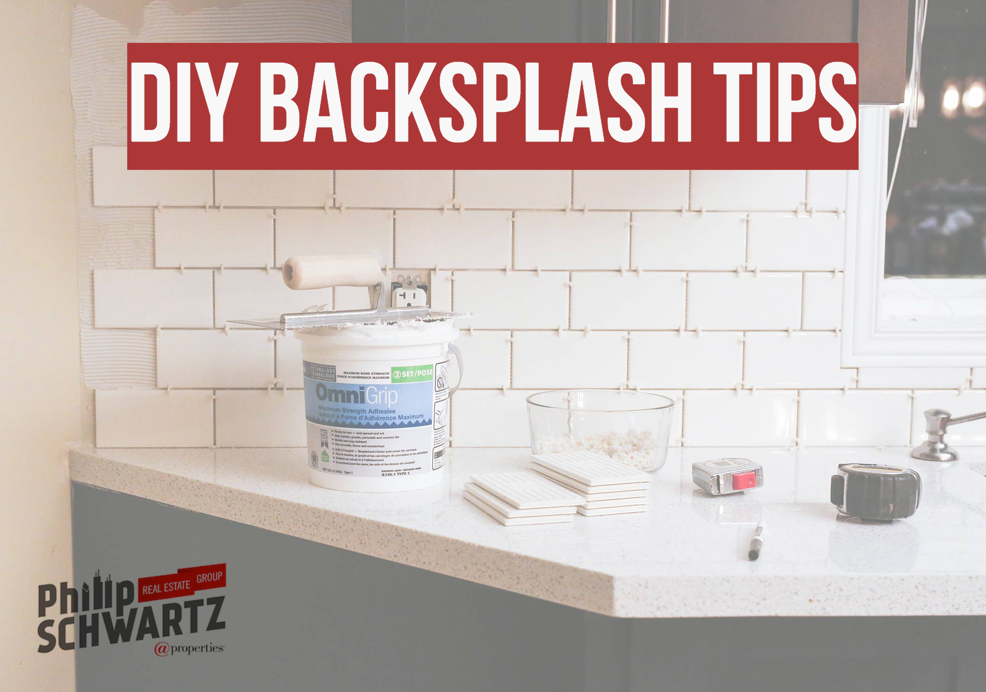 DIY Backsplash