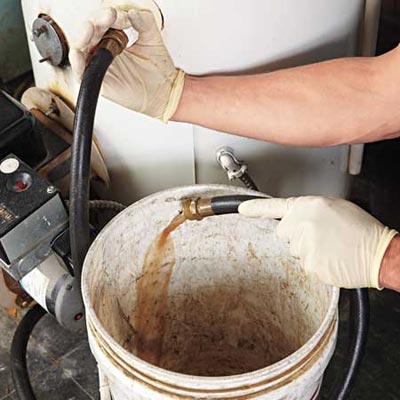 flush water heater