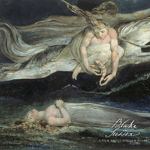 I am Right, and shall now go on with the Vigor I was in my chidhood famous for.  _________________________________________  #Williamblake #catherineblake #blake #arthistory #engraving  #symbolism #Mysticism #Poetrybook