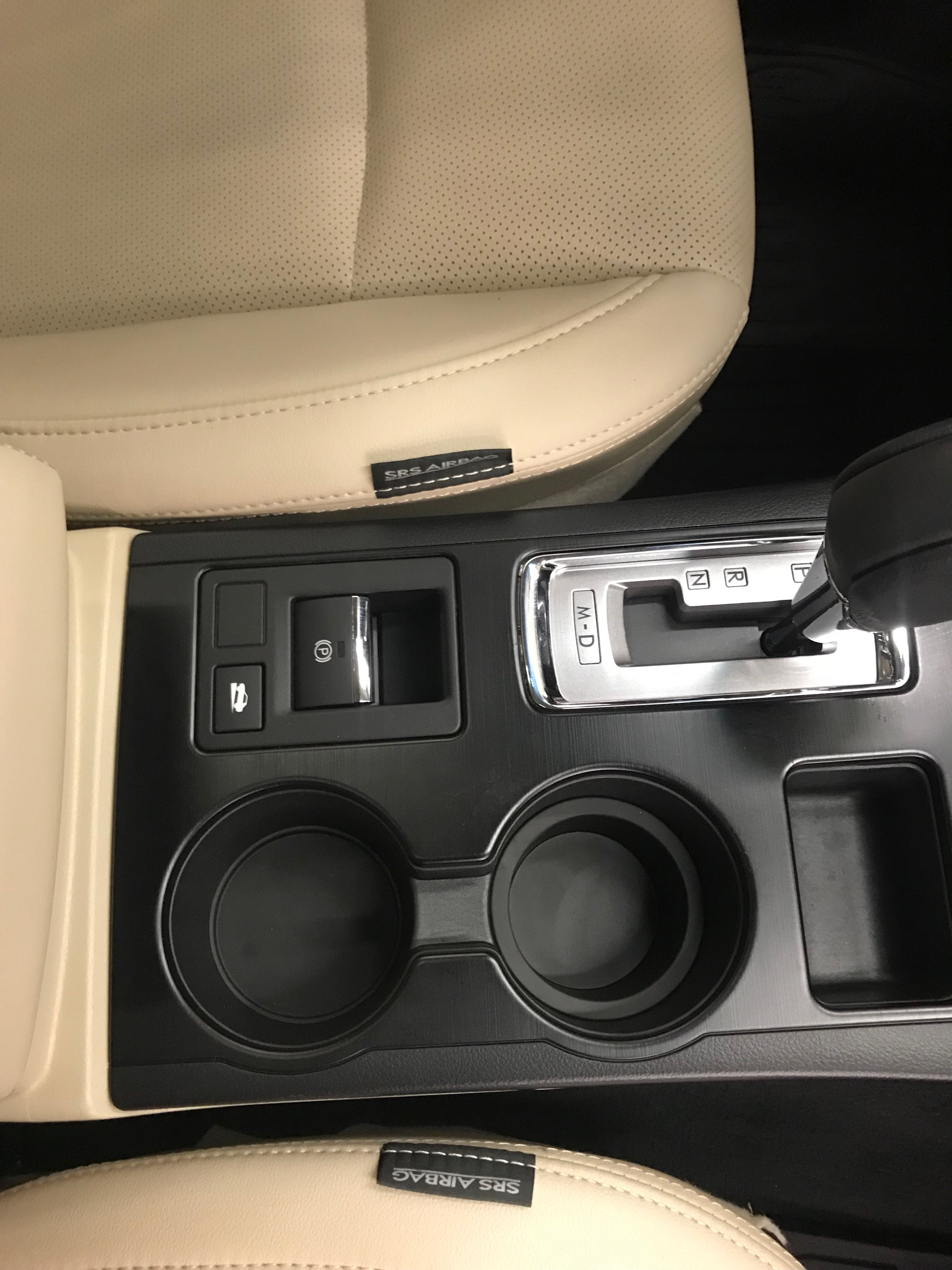 After image of plastic interior