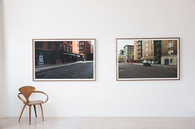 Imagine a New York City without its atmosphere and energy. Standing tall at 60x40 inches, these large-format photographs by Shawn Connell show New York City as a movie backlog, focusing on the city as a set. Captured moments show signs of life - trash piled on the curb, a freshly trodden sidewalk- but without the life.  If you want to know more about 'Naked New York,' follow the link in bio!