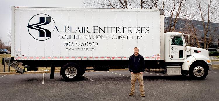 LOUISVILLE LOCAL/COURIER — A  Blair Enterprises